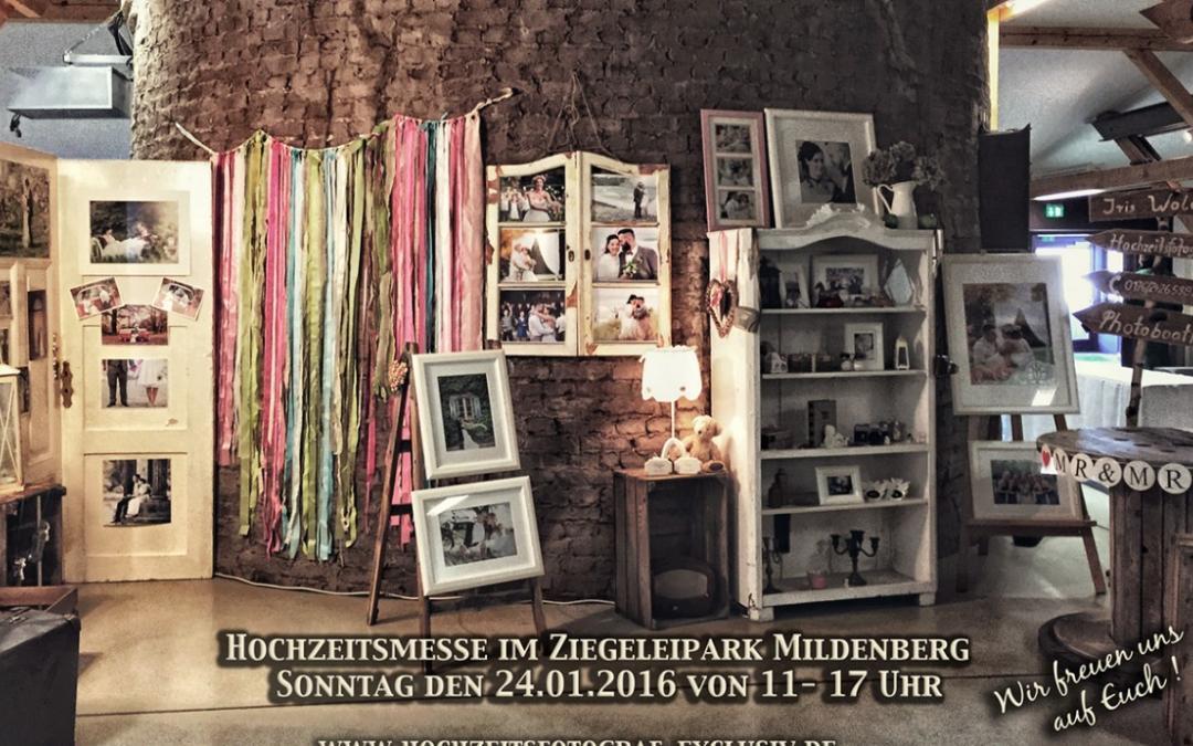 Hochzeitsmesse Gransee 2016 / Ziegeleipark Mildenberg