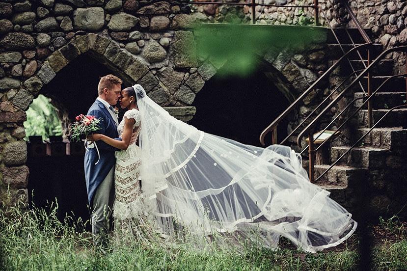 Deutsch-Afrikanische Hochzeit Liebenberg